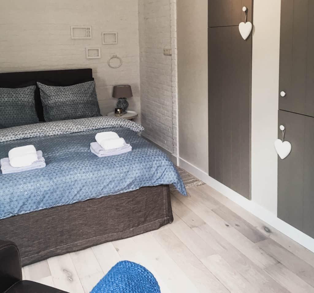 Vakantiehuis met vintage accenten-slaapkamer