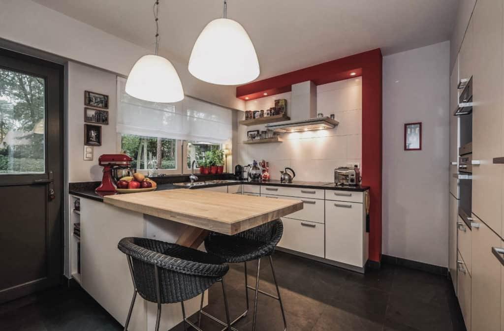 villa in belgie - kantoor