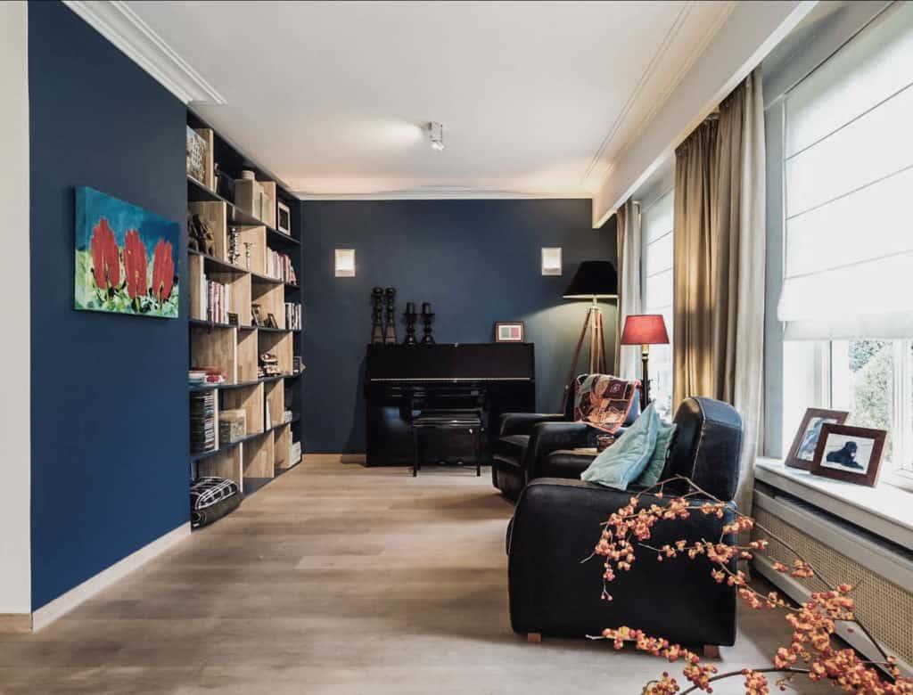villa in belgie - salon