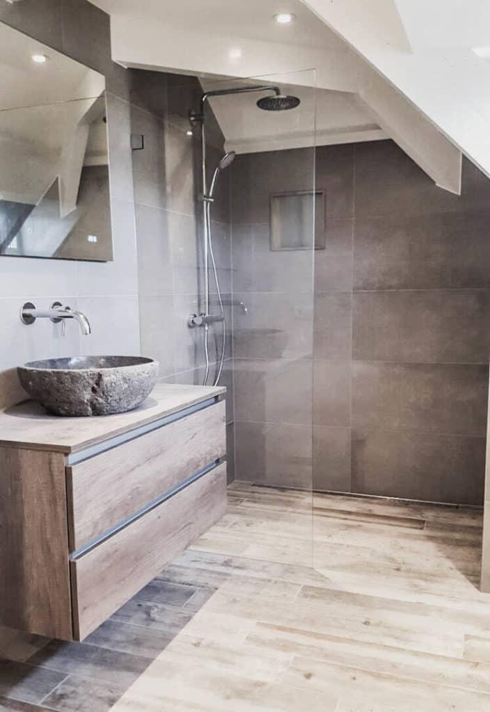 villa in zuid holland - badkamer