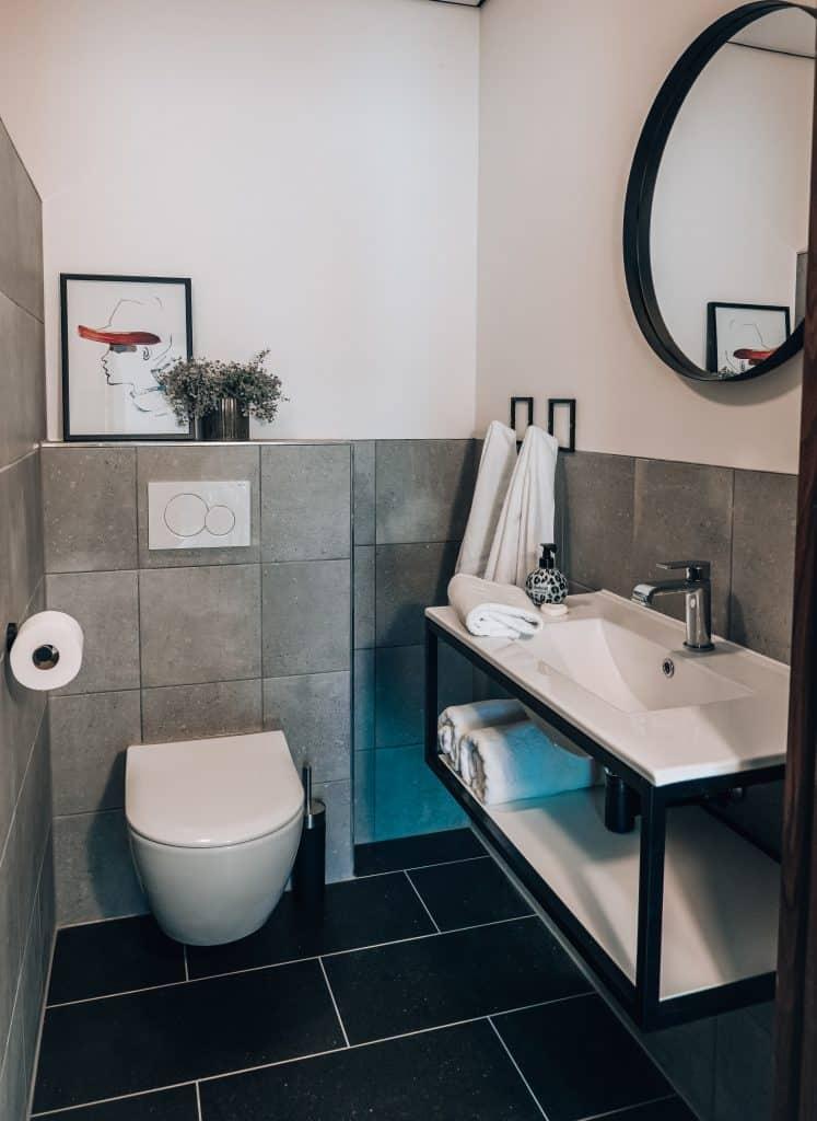 vakantiewoning badkamer